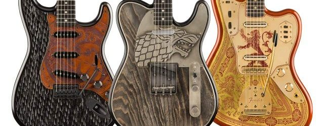 Fender lanza una colección de guitarras inspirada en Game of Thrones
